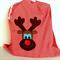 Santa Sack - red stripe